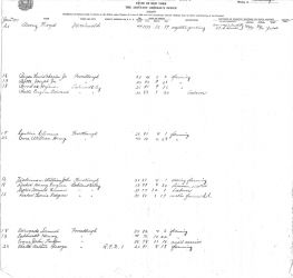 World War 1 Militia Enrollment List